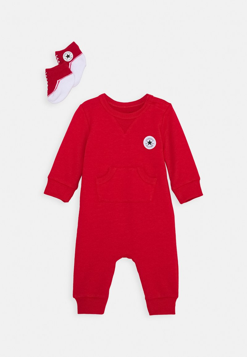 Converse - LIL CHUCK COVERALL SET UNISEX - Jumpsuit - enamel red
