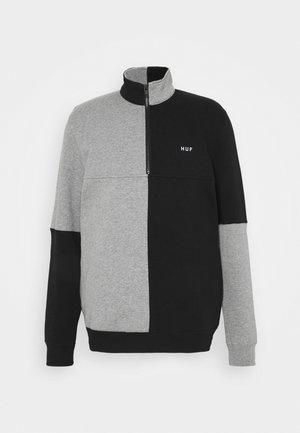 SEPARATOR QUARTER ZIP - Sweatshirt - black