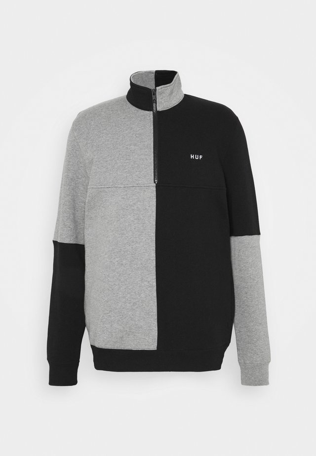 SEPARATOR QUARTER ZIP - Sweater - black