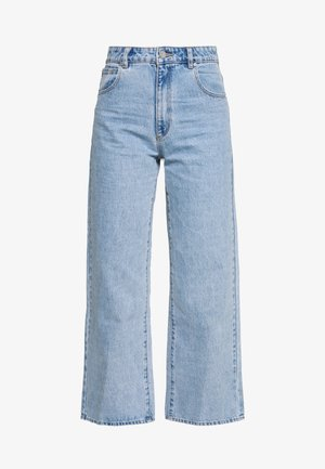 Flared Jeans - light blue denim