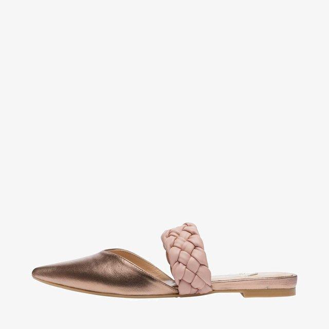 Slingback ballet pumps - make up