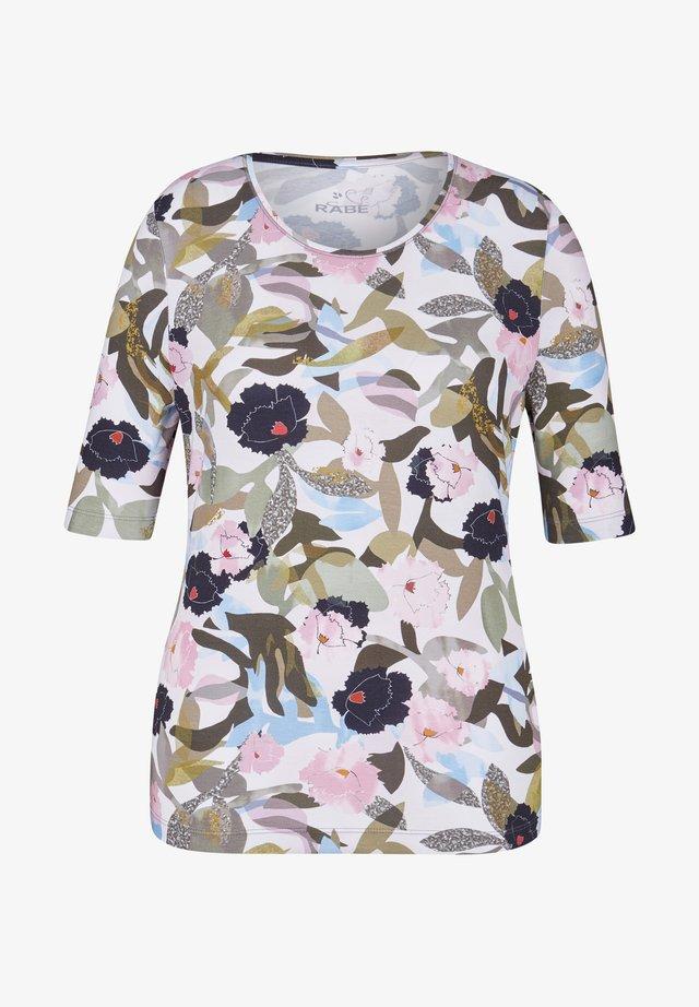 BONNIE - Print T-shirt - khaki
