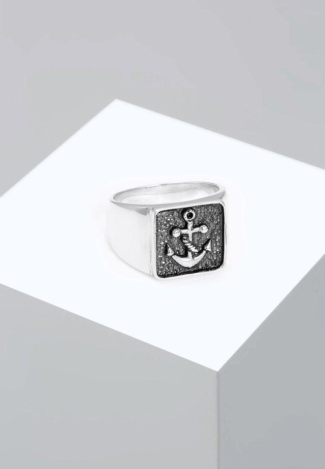 ANKER - Anello - silver-coloured