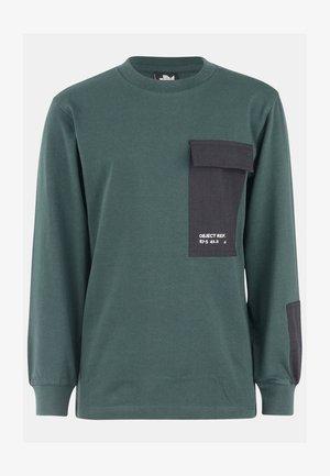 EDDY - Pitkähihainen paita - green