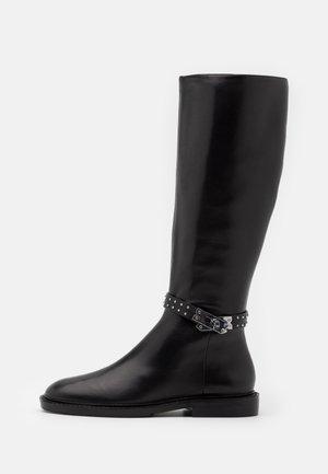Støvler - black/silver