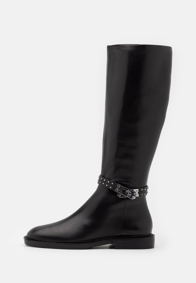 Boots - black/silver
