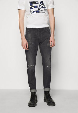 POCKETS PANT - Slim fit jeans - anthracite