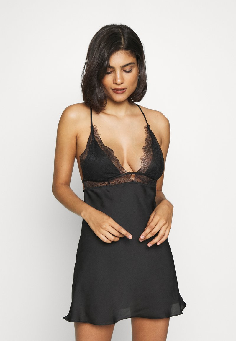 Hunkemöller - HOLLY - Negligé - black
