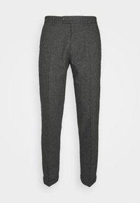 COMO SUIT PANTS - Oblekové kalhoty - charcoal