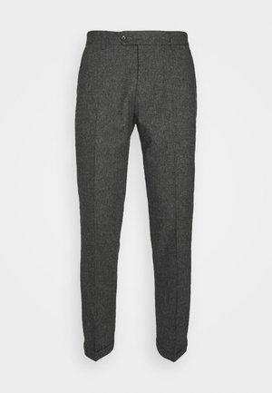 COMO SUIT PANTS - Suit trousers - charcoal