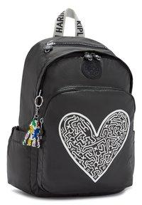 Kipling - DELIA - Backpack - keith haring chalk art - 3