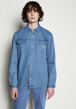 ARCHIVE RELAXED FIT - Denim jacket - stone blue wash