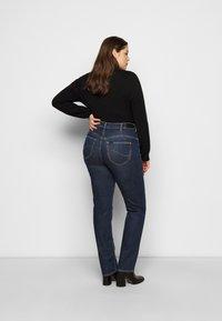 Lee Plus - CLASSIC - Straight leg -farkut - dark-blue denim - 2