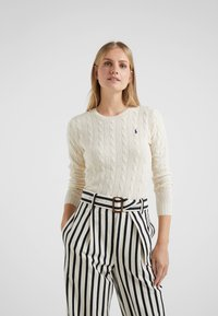 Polo Ralph Lauren - JULIANNA  - Strickpullover - cream - 0