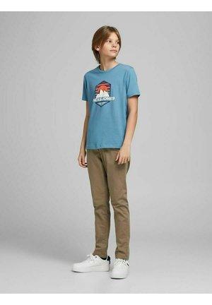 Print T-shirt - blue heaven