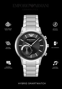 Emporio Armani Connected - Orologio - silver-coloured - 4
