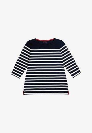 BREST MARINIÈRE - Long sleeved top - rich navy/blanc