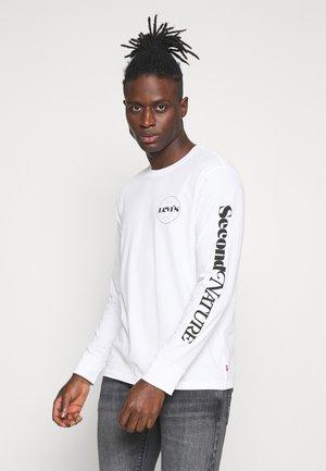 GRAPHIC TEE UNISEX - Maglietta a manica lunga - white