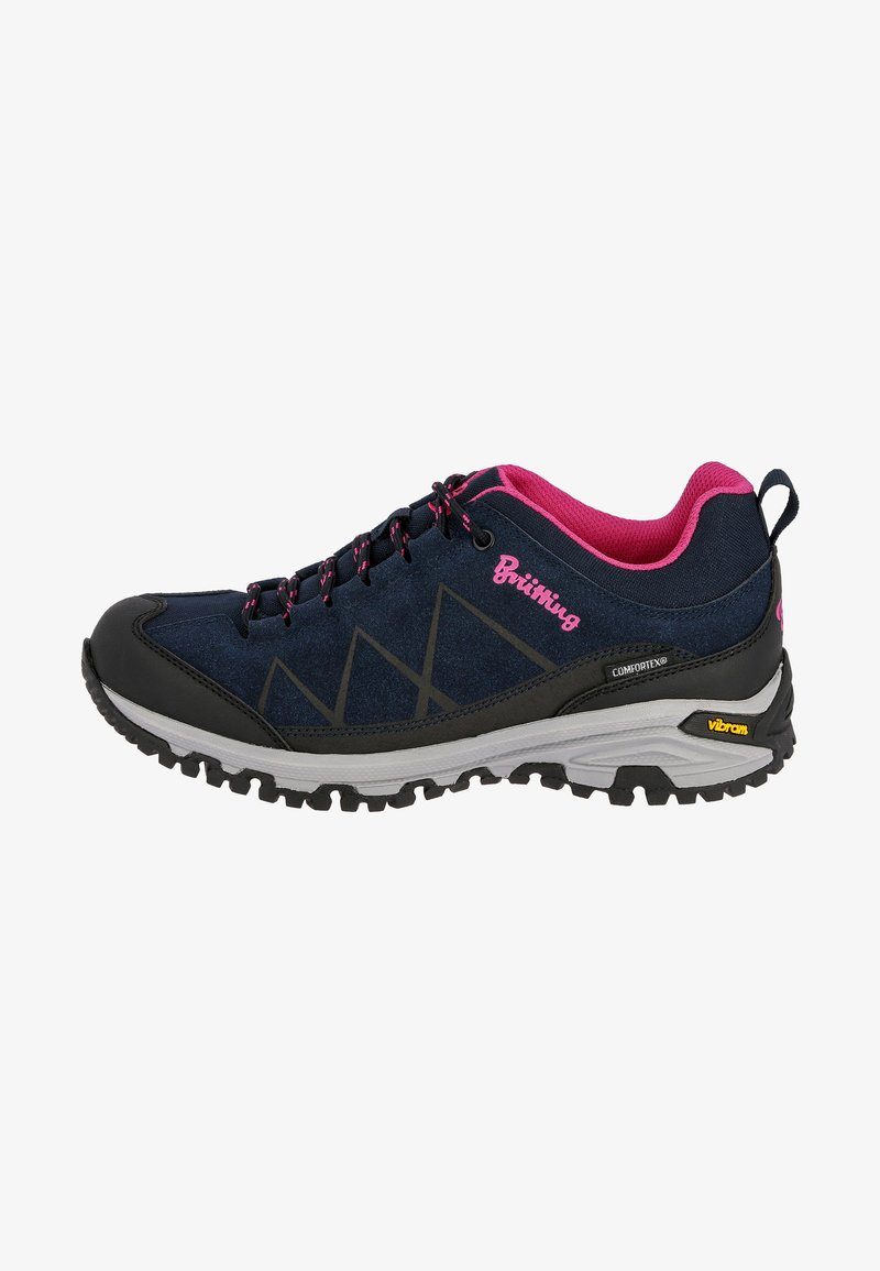 Brütting - Hiking shoes - dark blue/light pink