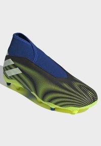 adidas Performance - NEMEZIZ.3 FG LACELESS FUSSBALLSCHUH - Moulded stud football boots - black - 1