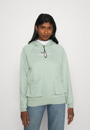 HOODIE - Sweatshirt - steam/white