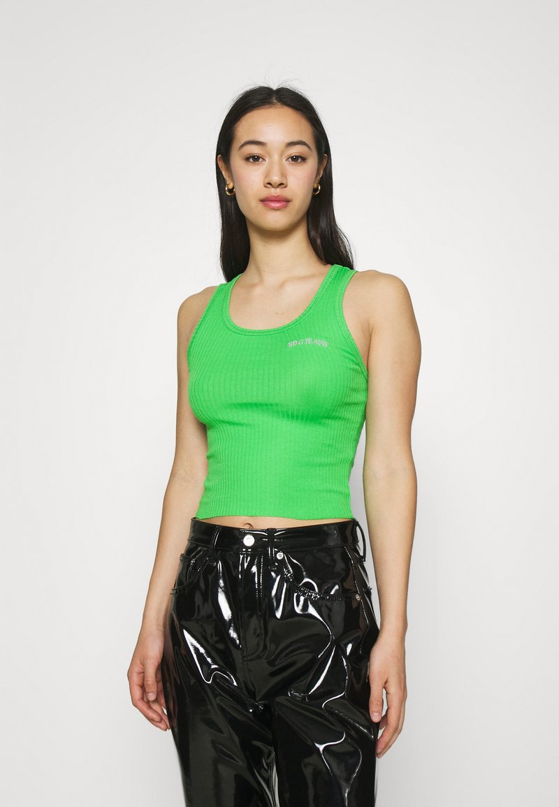 BDG Urban Outfitters - SCOOP TANK - Top - green