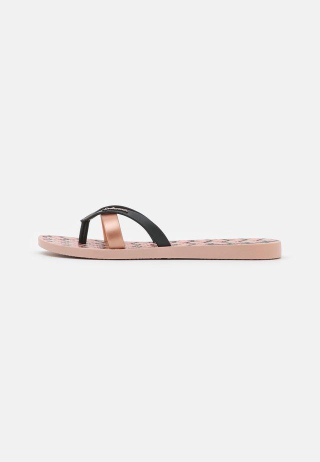 KIREI - Infradito da bagno - pink/black