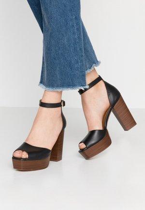 DISAMA - High heeled sandals - black