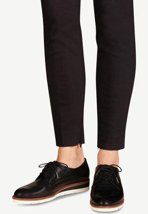 HALBSCHUH - Casual lace-ups - black