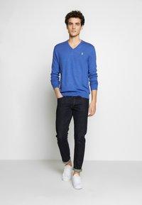 Polo Ralph Lauren - LONG SLEEVE - Strickpullover - blue - 1
