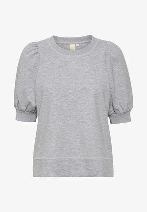 JEAPW SW - Print T-shirt - grey melange