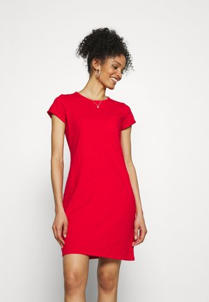 TEE DRESS - Jersey dress - pure red