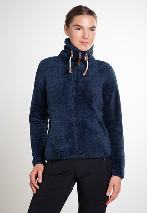 Fleece jacket - dunkel blau