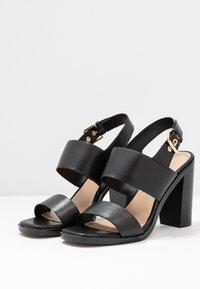 ALDO - FIELIA - Sandaler med høye hæler - black - 4
