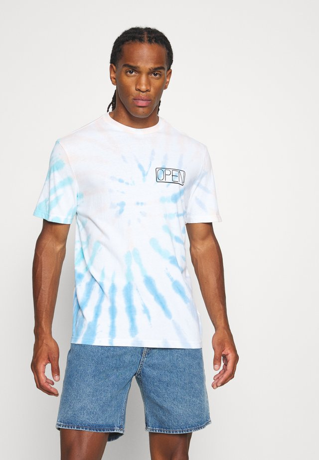 SET IN TIE DYE TEE - T-shirt con stampa - peach