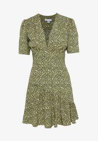 SLEEVE MINI - Denní šaty - lime