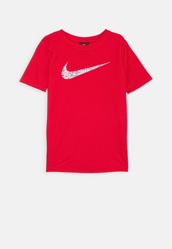 CORE - Print T-shirt - university red/white