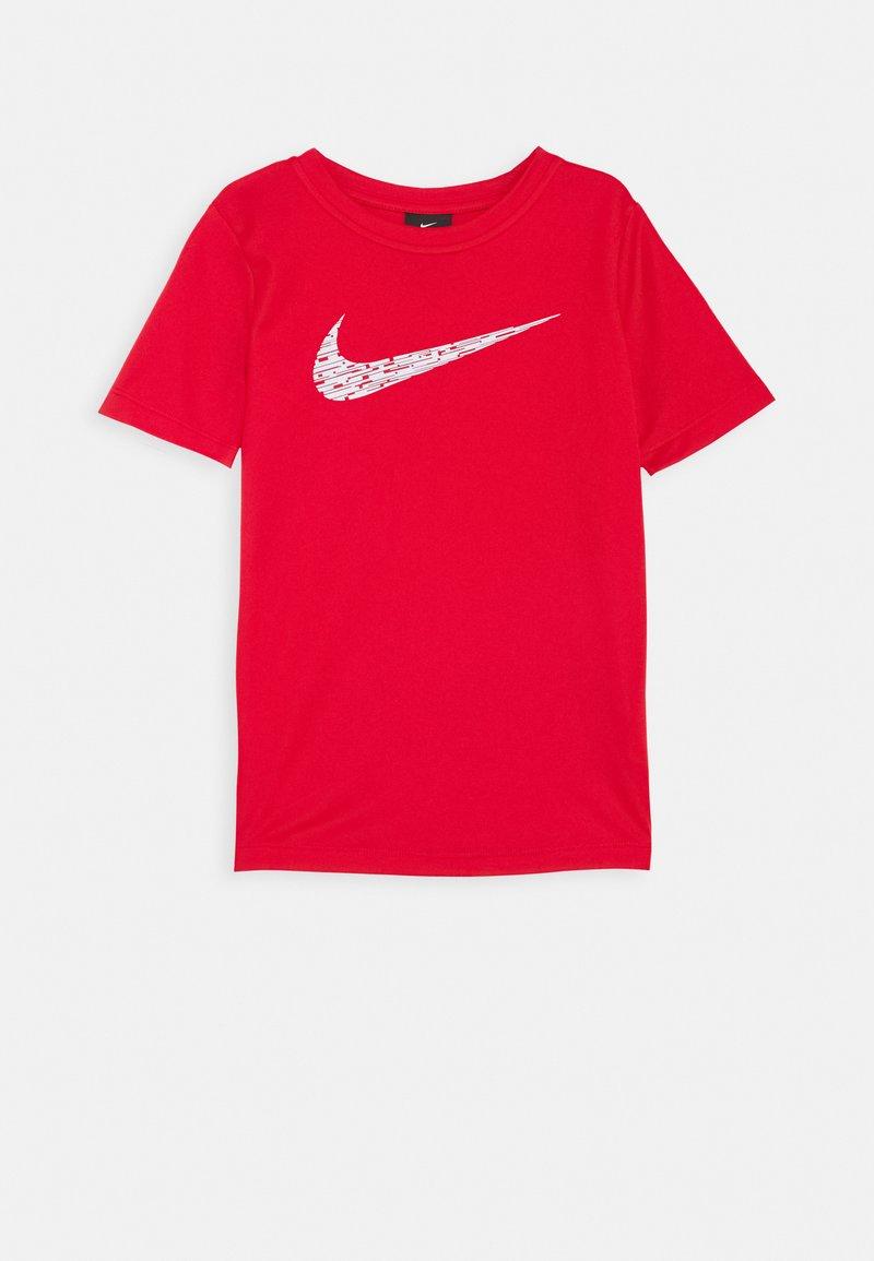 Nike Performance - CORE - Print T-shirt - university red/white