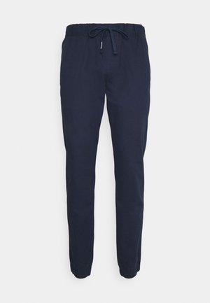 SCANTON DOBBY  - Spodnie materiałowe - twilight navy