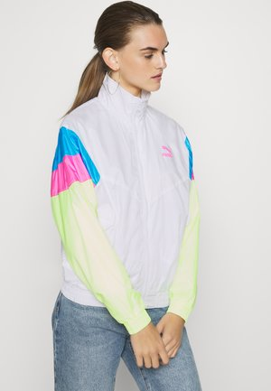 TRACK JACKET  - Lehká bunda - white