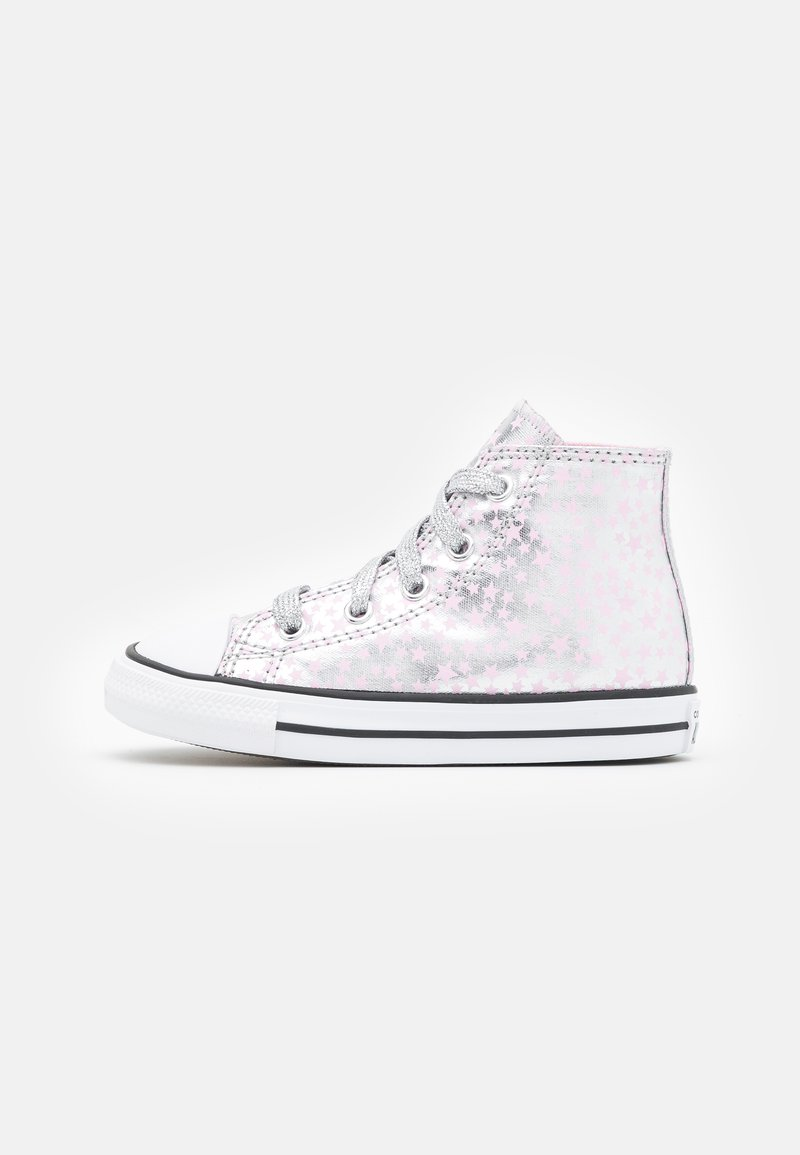 Converse - CHUCK TAYLOR ALL STAR - Sneakers alte - silver/pink glaze/white