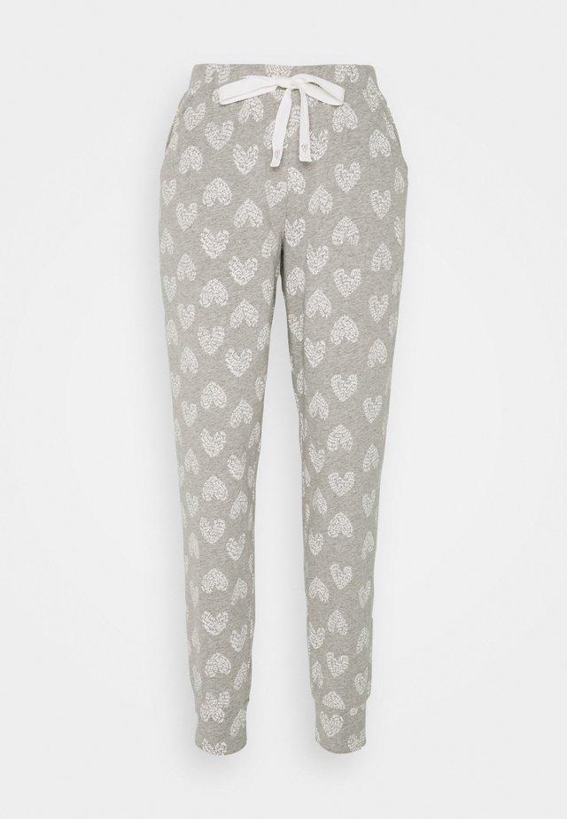 PANT HEART - Pantaloni del pigiama - grey melee