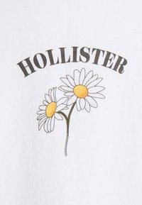 Hollister Co. - Print T-shirt - white - 4