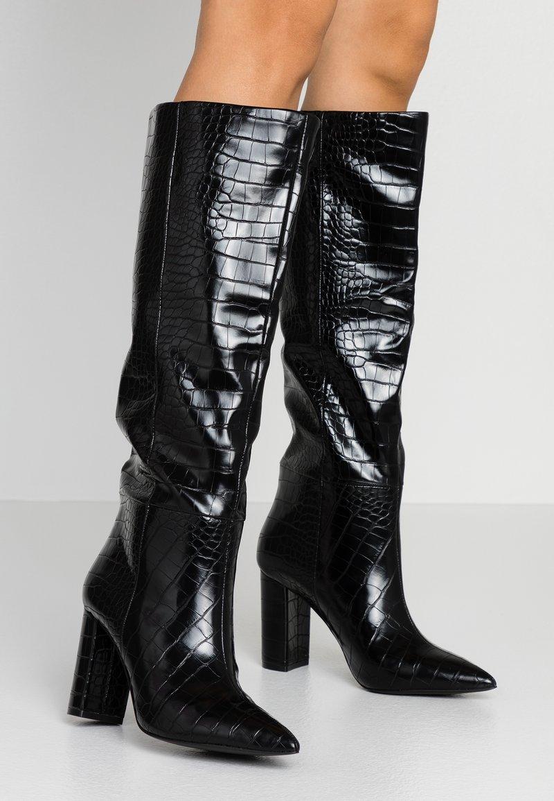 Call it Spring - SILA - Boots med høye hæler - black