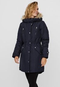 Vero Moda - Winter coat - navy blazer - 0