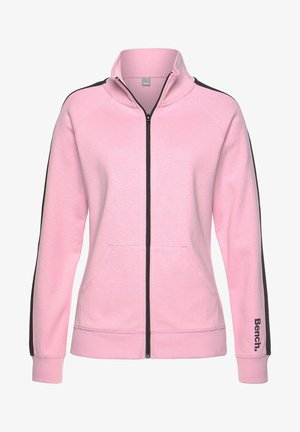Training jacket - rosa-schwarz