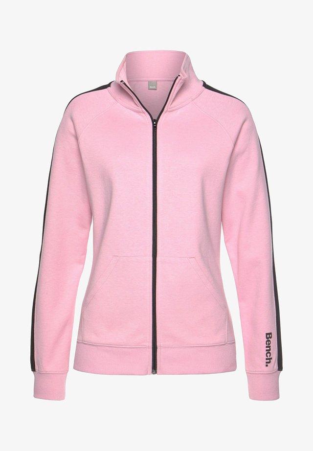 Training jacket - rosa-schwarz