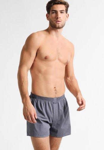 Boxer shorts - dark denim