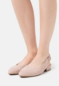 Peter Kaiser Wide Fit - FASELLE - Ballerines - mauve - 0