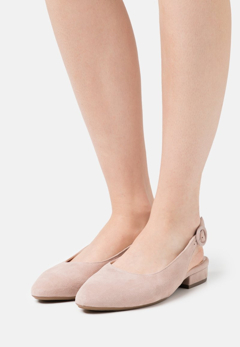 Peter Kaiser Wide Fit - FASELLE - Ballerines - mauve
